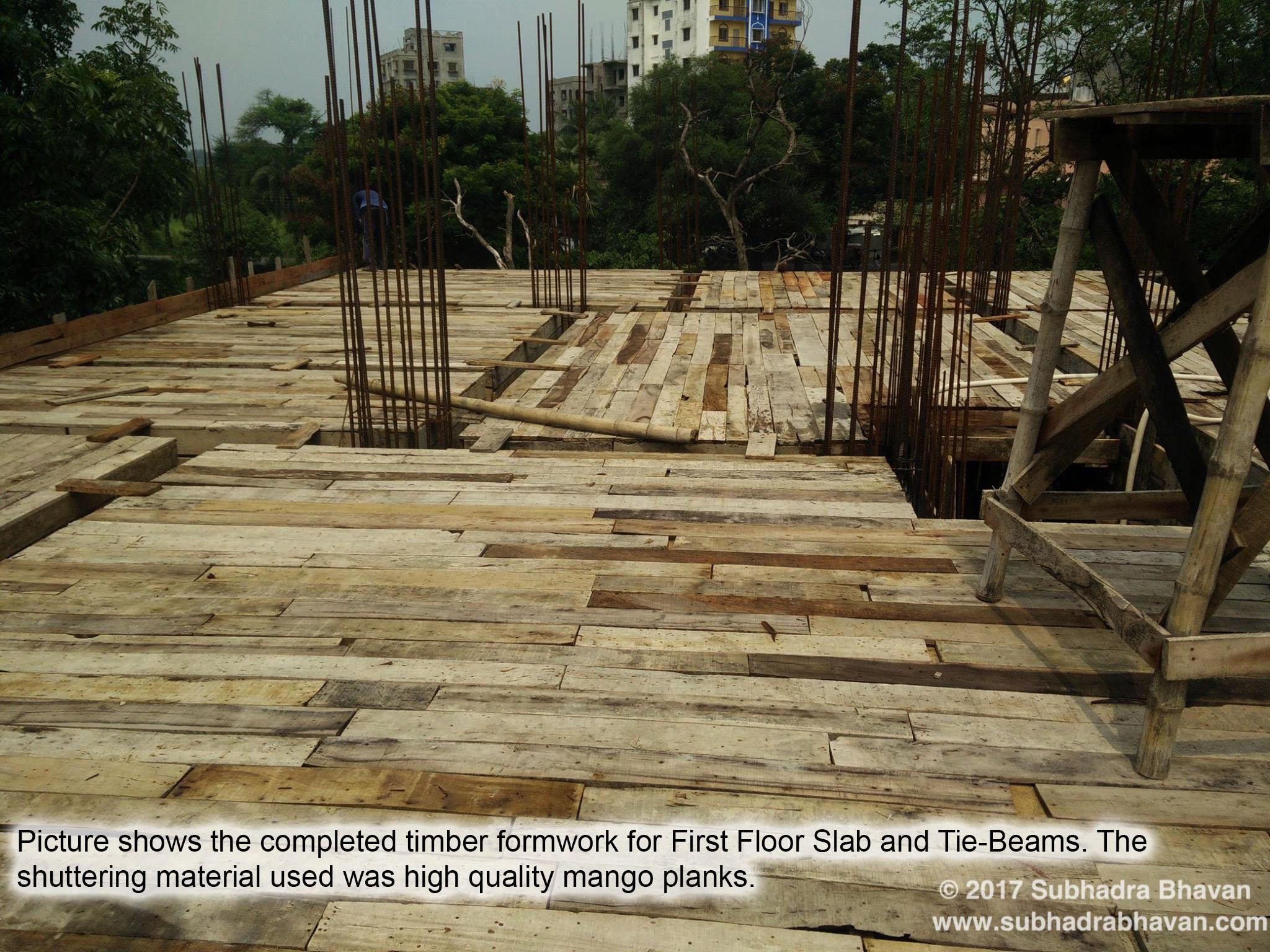 Subhadra Bhavan - Construction of Deep Pile Foundation in